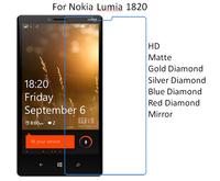 For Nokia Lumia 1820 HD/Matte/Diamond Screen Protector Film Free Shipping
