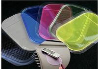 OPP bag packing,3pcs/lot---car dashboard antislip pad,Silica rubber sticky washable car non-slip holder,multicolor Anti-slip mat
