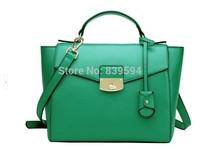 2014 new winter female leather hand bag shoulder bag Messenger bag big