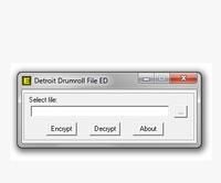 2014 DETROIT DRUMROLL FILE ENCRYPTOR/DECRYPTOR (EDITOR) v0.1