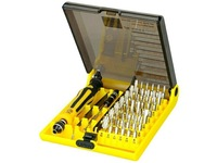 Wholesale 5PCS/lot,DHL Freeshipping High Quality 45 in 1 Tweezers Mobile Multitool Computer Tool Kit (JK6089-A)