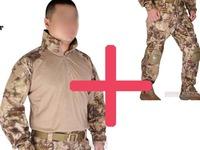 Emerson bdu G3 uniform shirt & Pants with knee pads Emerson BDU airsoft waregame uniform HLD EM8594 EM7047