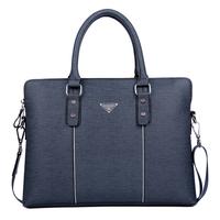 2015 Real New Arrival Zipper Solid Dress Pu Picture A Cross-section of Men Briefcase Bag Shoulder Man Business Handbag + Purse