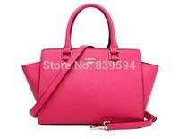 2014 autumn new portable shoulder bag Messenger bag leather bag smiley