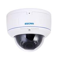 Escam  HD3500V ONVIF 2.0MP 1080P Network IR Dome Camera POE H.264 Wireless Outdoor IP Camera IP66 Waterproof  Web Camera