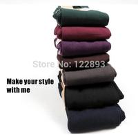 2014 New High Waist Leggings For Women Casual Warm Winter Faux Velvet Legging Knitted Thin Slim Leggings Super Elastic
