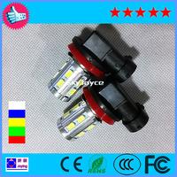 Freesshipping china post LED 9145 9140 9005 H10 LED fog lamp auto driving lamp 12 SMD 5630 5730 +1 CREE led fog light bulb