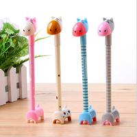 2014 Super cute cartoon hippo stationery standing ballpoint pen 4 colors