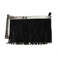 Cii winter fashion personality fringed women handbags studded PU leather bag shoulder Messenger bags wholesale