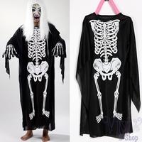 Hot Sale Fancy Halloween Costume For Kids Skull Skeleton Ghost Costumes Children Carnival Party Devil Clothes Fantasia Infantil