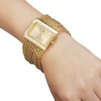 WH002 New Lady/Women's Chains Diamond Bracelet Style Wrist Quartz Analog Watch 85980