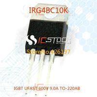 IRG4BC10K IGBT UFAST 600V 9.0A TO-220AB 10pcs