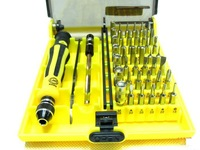 Wholesale 10PCS/lot,DHL Freeshipping JK6098-A  45-in-1  multifunction Tool Kit  set with Tweezers (JK6089-A)