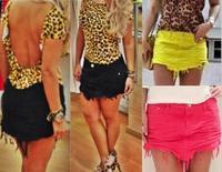 saias femininas 2014 skirt Plus Size skirts womens Denim Skirts with V Tip for Women Shorts summer vestidos D25