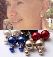New Fashion Hot Selling Big Brand Earring Pearl Stud Earrings For Women AE697