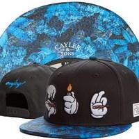 Cayler & Sons galaxy Snapback cap men women NEW style Loving gesture pattern sport baseball caps hip hop hat! Free shipping!!