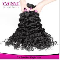 3Pcs/lot Grade 7A Brazilian Curly Virgin Hair,14-22 Inches Italian Curly Human Hair Weave,Top Quality Aliexpress Yvonne Hair