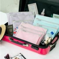 Mesh  Travel Storage Pouch Mix Set Series(3 bags/set)