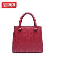 Women's handbag embossed women's 2014 classic handbag messenger bag