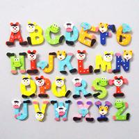 Free shipping 26pcs a set Colorful Kids Wooden Alphabet fridge Magnet,Child Educational Toy -DS049