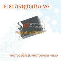 EL817(S1)(D)(TU)-VG PHOTOCOUPLER PHOTOTRANS 4SMD EL817(D)(TU)-VG 817 EL817(D)(TU) 30pcs