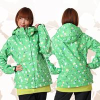 Free Shipping 2014 new women's clothing  jackets Gsou snow ski suit ski suit female heart monoboard ski suit