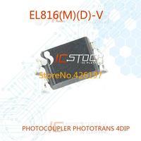 EL816(M)(D)-V PHOTOCOUPLER PHOTOTRANS 4DIP EL816(D)-V 816 EL816(D) 30pcs