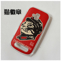 Case for Nokia Lumia 610 Perfect leather coloured drawing or pattern.Free shipping