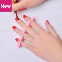 2 Pcs/Lot Nail Art Care File Eva Soft Finger Toe Separator Heart Shape Beauty Seperator Manicure Pedicure