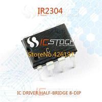 IR2304 IC DRIVER HALF-BRIDGE 8-DIP 2304 R2304 10pcs