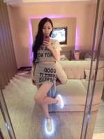 European Grand Prix 2014 big letters ladies short-sleeved shirt + package hip skirt suit hairs line 4311