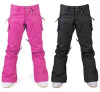 Free Shipping Gsou snow skiing pants Women skiing pants monoboard skiing pants water-proof and free breathing