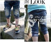 free shipping 5pcs/lot baby Boys' s summer short Jeans Cowboy pants/trousers