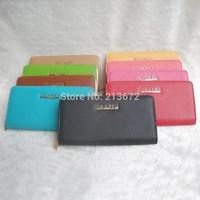 Euramerican Fashions Women's Wallet PU Leather Alloy Zipper Long Wallets Holders Purse Clutch Wallet Coin Purse Retail&Wholesale