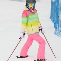 hot sell Free Shipping 2014 new women's jackets Gsou gradient snow ski suit monoboard Women ski suit waterproof female