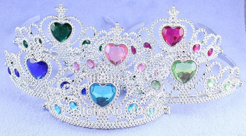 Multicolor Crown Anna Elsa Cosplay Crown