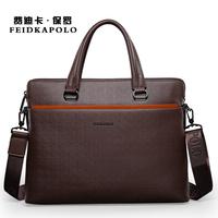 2015 Top New Zipper Solid Dress Pu Men Briefcase Handbag Shoulder Bag Man Business Free Shipping