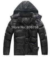 new large size men's sport coat male coat thicker cold winter coat fashion coat jacket Free Shipping