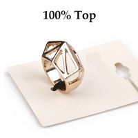 Min Order 9$! PUNK Style Fashion Geometric Women Finger Ring Jewelry for Party