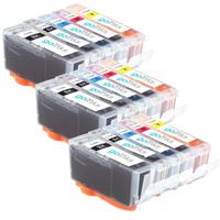 New 15pcs Free shipping PGI 525 CLI 526 ink cartridge For ca PIXMA IP4850/IP4950 IX6550 MG5150/MG5250/MG5350 MX715/MX885/MX895