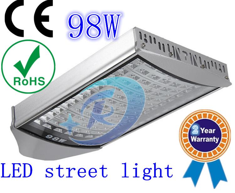 98W LED Street Lights Flood lights LED road lighting high power LED street lamp Waterproof IP65 Color temperature 6000-6500(China (Mainland))