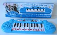 Frozen new fashion cartoon electronic keyboard musical keyboard