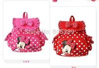 Free shipping kids Cartoon School Bags kintergarden lovely children Canvas Backpack