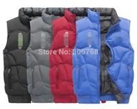 new men's sports vest cotton vest thick winter coat fashion coat coat anti-cold / 4 colors