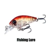 2014 Top Quality Multi Colors 45mm 3.5g Mini Crank Fishing Lure Hard Bait with Hooks fish tackle fishing bait