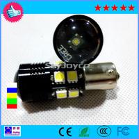 2X white 1156 led BA15S led reverse lights DC12V led backup lamp bulb P21W cree R5 led turning Reversing tail light