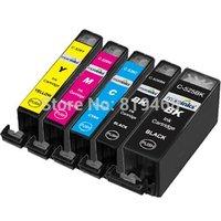 10 pcs Free shipping PGI 525 CLI 526 ink cartridge For ca  PIXMA IP4850/IP4950 IX6550 MG5150/MG5250/MG5350 MX715/MX885/MX895