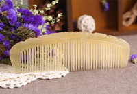 Natural Horn Comb, Anti hair loss.natural horn comb comb massage comb anti-static anti-hair loss modeling tools necessary