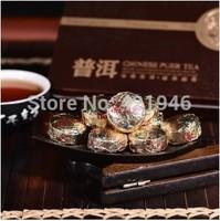 75g health Black tea Golden Pu er  Pu'erh tea Mini Yunnan Puer tea Chinese tea Gift Tin box  green slimming coffee lose weight