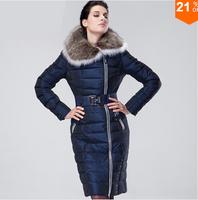 Winter Jacket Women 2014 Winter Coat Women Plus Size Luxury Down Jackets Women Large Fur Thickening Brand Down Parka Coat S- 8XL
